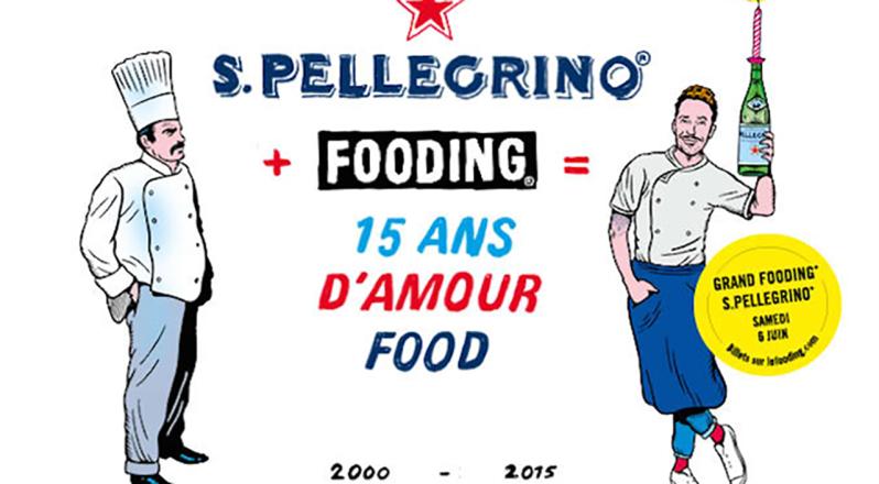 San Pellegrino + Fooding