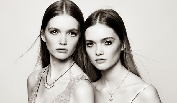 Ruth and May Bell for Topshop