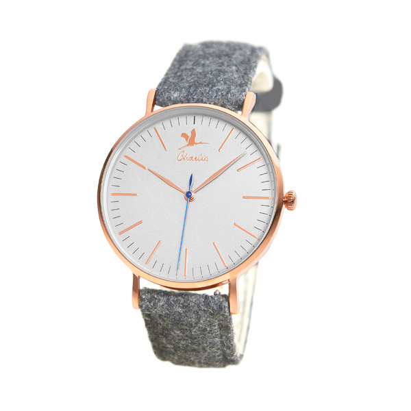 La montre Charlie Watch en Tweed - 145 €
